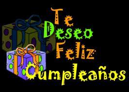 Te deseo feliz cumpleaños hijo