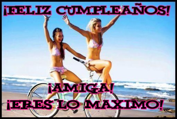 Frases de cumpleaños para amigas