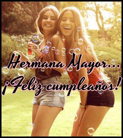 Frases de cumpleaños para hermanas lindas