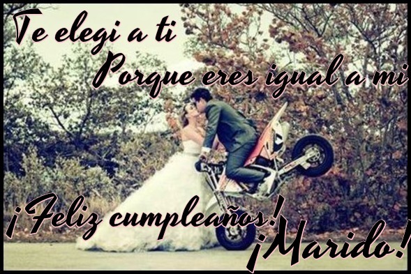 Frases de cumpleaños para esposos