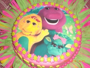 Imagenes de cumpleaños de Barney