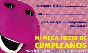 Imágenes de cumpleaños de Barney