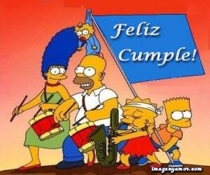 Imágenes de cumpleaños de Bart Simpson