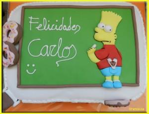Imágenes de cumpleaños de Bart Simpson gratis