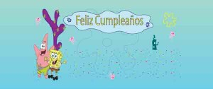 Tarjetas de cumpleaños de Bob Esponja