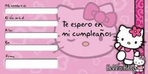 Imagen de cumpleaños de Hello Kitty
