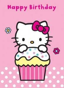 Imágenes de cumpleaños de Hello Kitty