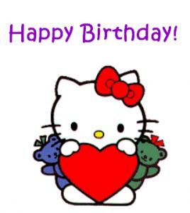Happy Bitrhday de Hello Kitty