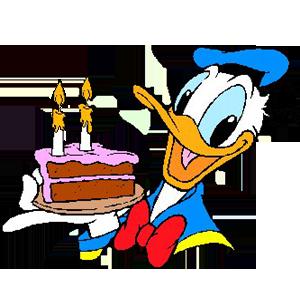 Imágenes de cumpleaños de Pato Donald gratis