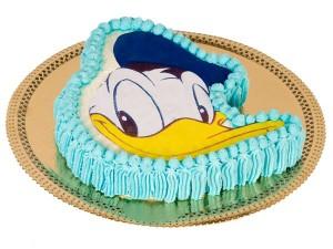 Imágenes de cumpleaños de Pato Donald en pastel