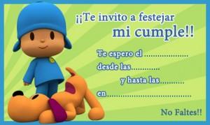 Imagenes de cumpleaños de Pocoyó