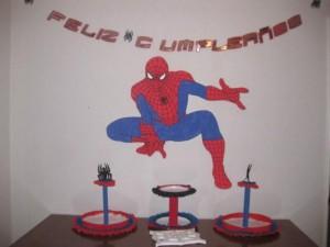 Decoración de cumpleaños de Spiderman