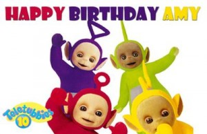Imágenes de cumpleaños de Teletubbies