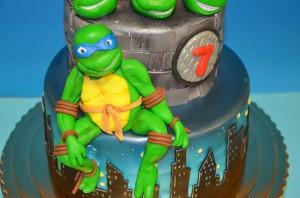 Imagenes de cumpleaños de Tortujas Ninja