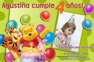 Imágenes de cumpleaños de Winnie the Pooh gratis