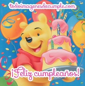 Feliz cumpleaños de Winnie the Pooh