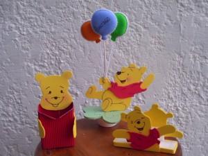 Decoración de cumpleaños de Winnie the Pooh