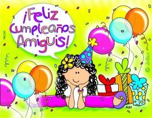 Felicitaciones de cumpleaños para un amigo querido