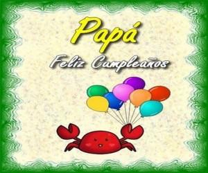 Felicitar un cumpleaño a mi papa