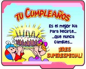 Feliz cumpleaños para compañeros
