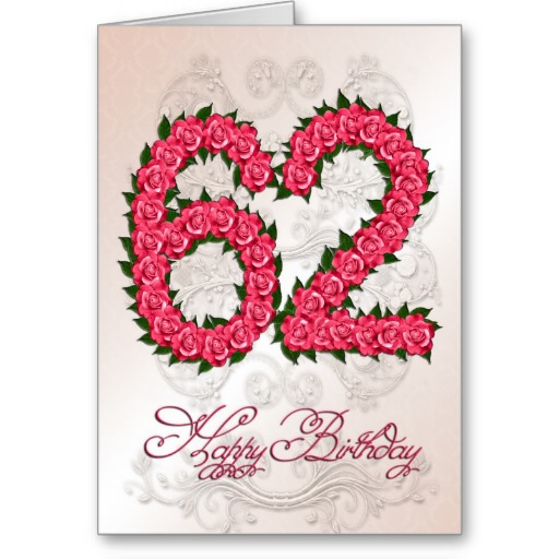 Imágenes de cumpleaños para los sesenta y dos años