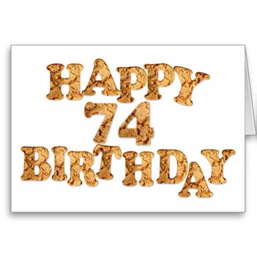 Imagenes de cumpleaños para los setenta y cuatro años