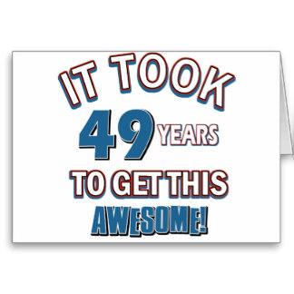 Imagenes de cumpleaños para los cuarenta y nueve años