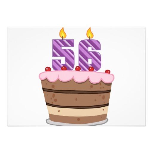Imagenes de cumpleaños para los cincuenta y seis años