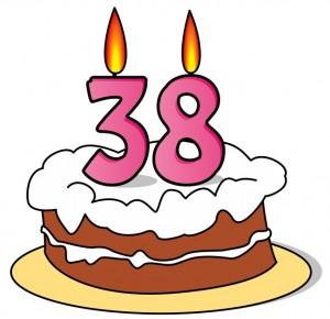 Imágenes de cumpleaños para los treinta y ocho años