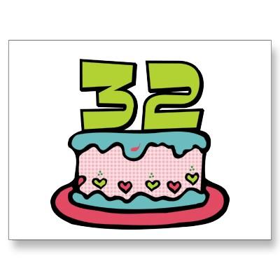Imagenes de cumpleaños para los treinta y dos años