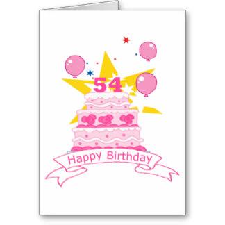 Imagenes de cumpleaños para los cincuenta y cuatro años