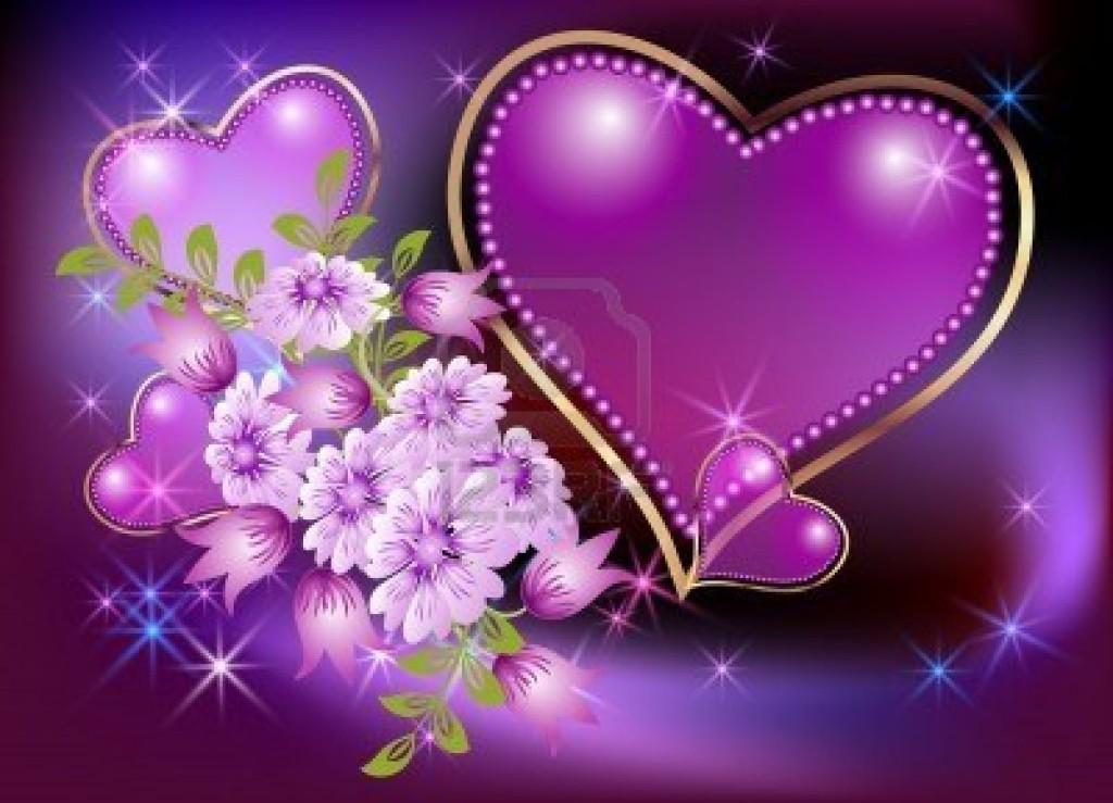 corazón con estrellas
