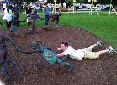 estatuas graciosas 5