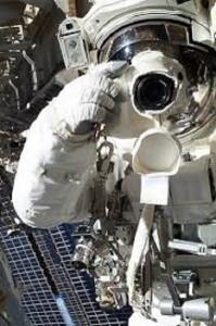 foto de astronautas