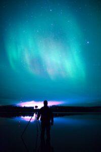 foto de aurora boreal