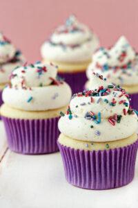 foto de cupcake