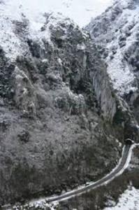 foto de nieve