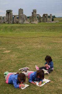 foto de stonehenge