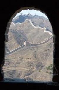 imagen de la muralla china