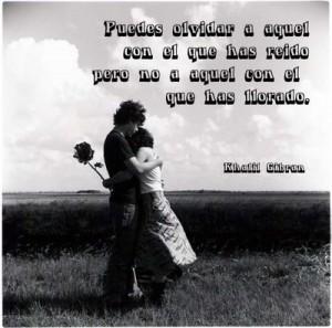 Olvidar al amor de tu vida es como incrustar un puñal en tu corazón