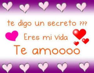 Te amo es el secreto que tango he guardado