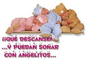Sueña con los angelitos