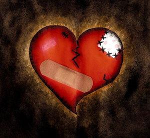 Mi corazón está remendado por tu amor
