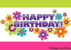 Happy Birthday en tu día