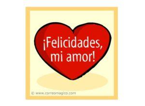 Feliz día y como regalo te doy mi amor