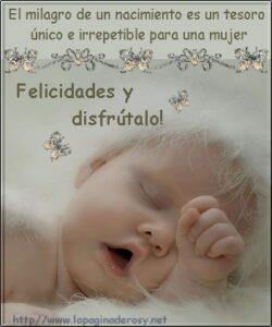 Un bebé es la felicidad de una familia