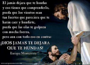 Jesús es el que nos saca de todo peligro