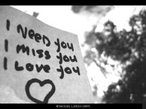 Rotulo de te amo mucho