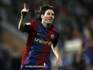 Fotos de celebraciones de Messi 2