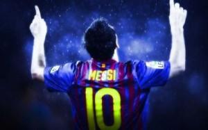 Fotos de celebraciones de Messi 3